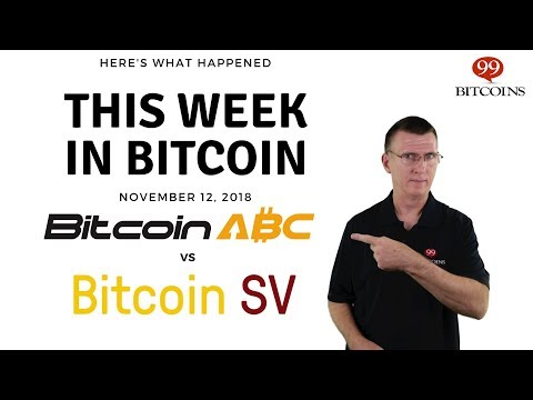 This Week In Bitcoin - Nov 12th, 2018