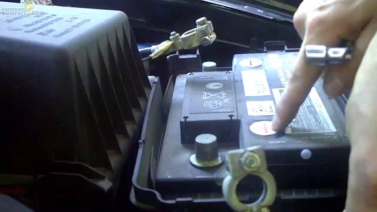 batterie voiture debrancher