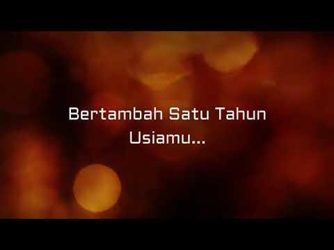 Video Story WA Lagu SELAMAT ULANG TAHUN !!!