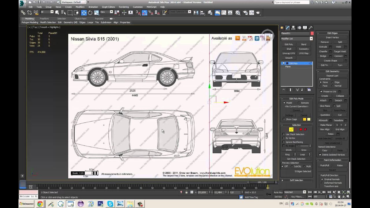 3ds max best way to setup blueprints for high quality and easy use 3ds max best way to setup blueprints for high quality and easy use youtube malvernweather Choice Image