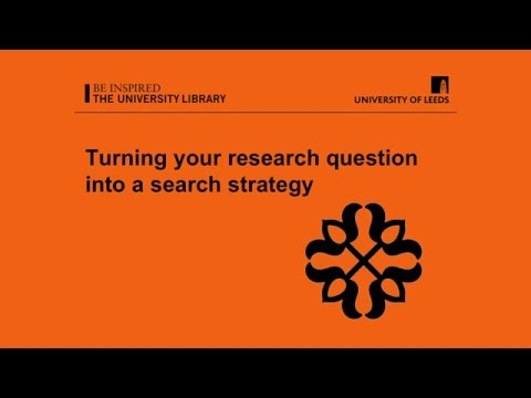 Dissertation search strategy