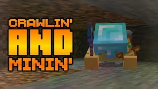 Minecraftand39s Newest Feature 1x1 Crawl Mining Project