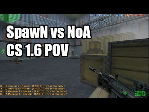 POV: SpawN vs. NoA @NGL SK CS 1.6 Demo