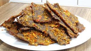 KHÔ BÒ / BÒ KHÔ - Bí quyết làm Khô Bò tại nhà thơm ngon đặc biệt - Món ăn ngày Tết by Vanh Khuyen
