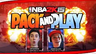 NBA 2K15 My Team - JESSERTHELAZER PACK & PLAY WAGER! PS4