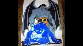 Drawing Goliath and Bronx From The Gargoyles