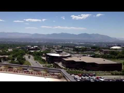 The Salt Lake City Valley from the Museum of Natural History