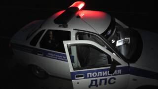 Пьяная автоледи на Хонде, бывший депутат, Южный обход. Место происшествия 07.04.2017