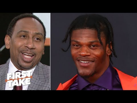 Lamar Jackson is the biggest threat to Patrick Mahomes creating a dynasty - Stephen A. | First Take