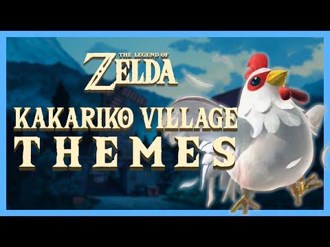 The Legend of Zelda - All Kakariko Village Themes (1991-2017)