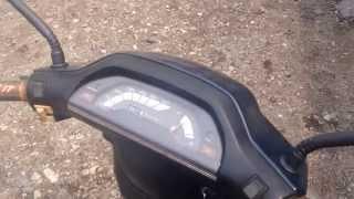 Мопед Honda Tact AF-24(Не судите строго. Обзор мопеда Honda Tact AF-24., 2014-05-04T04:31:35.000Z)