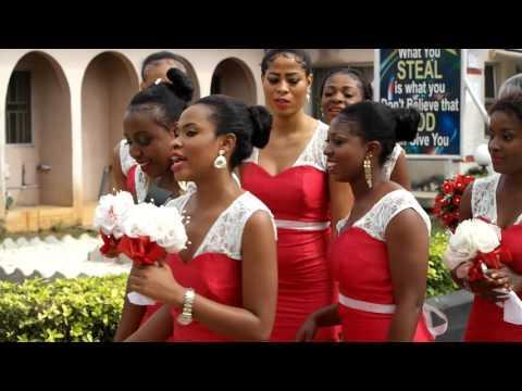 Treasure weds Bright at Winners Chapel Owerri