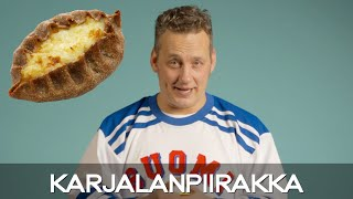 In Finland We Have This Thing Called... Karjalanpiirakka