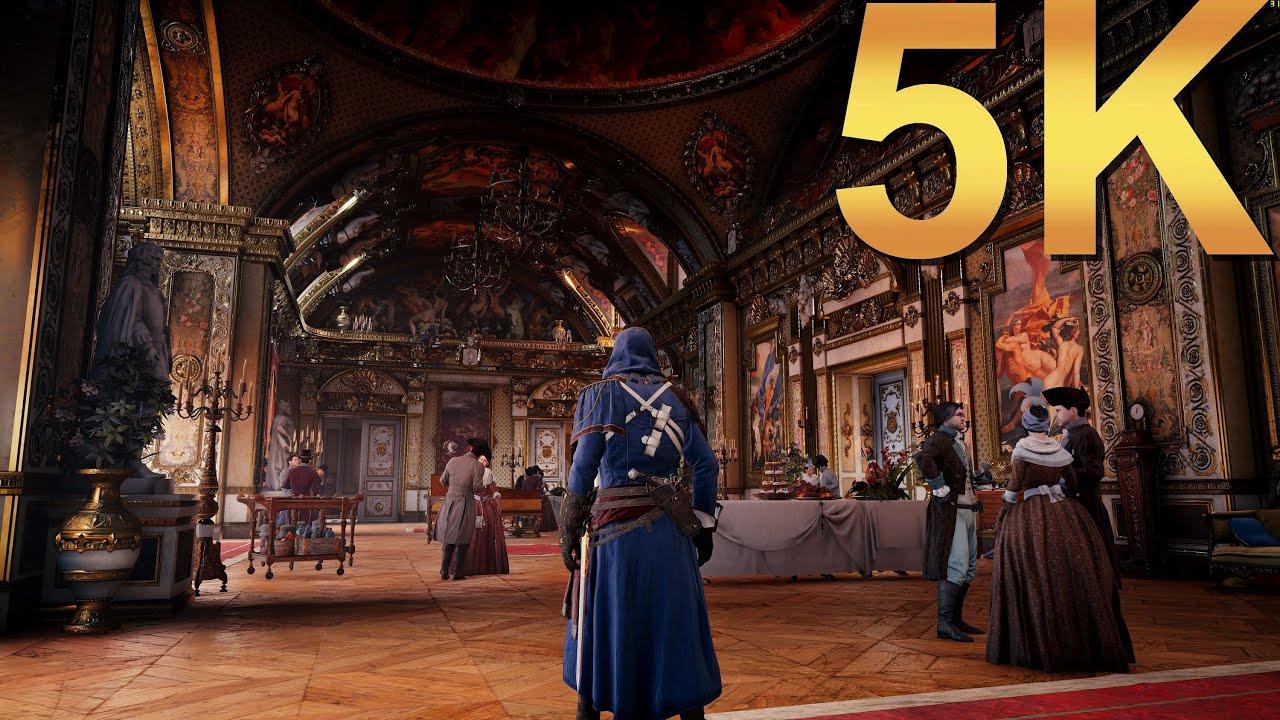 Assassins Creed Unity ACU 5K Ultra High Gameplay High