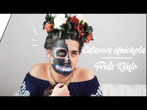 NYX Cosmetics Spain Face Awards 2017 | Calavera Huichola de Frida Kahlo