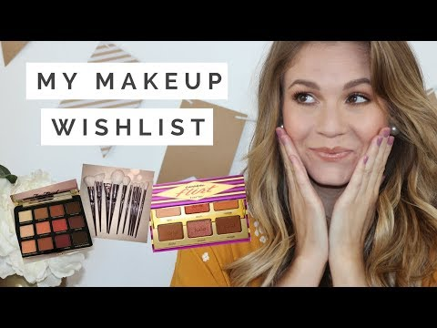 MAKEUP WISHLIST// New releases that I want to try!