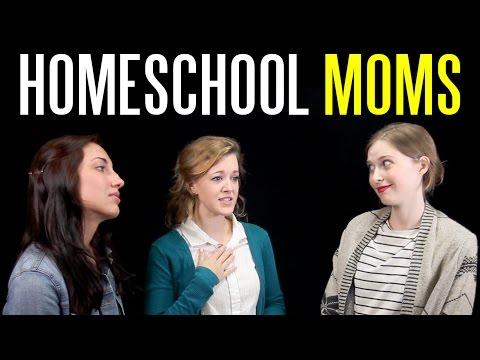 The Twelve Types of Homeschool Moms