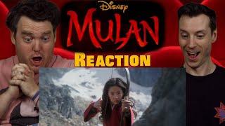 Mulan - Teaser Trailer Reaction / Review / Rating