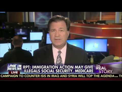 Immigration Action May Give Illegals Some Benefits - Leslie Marshall on The Real Story 11/26/14