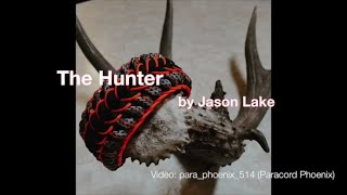 The Hunter Paracord Bracelet design by Jason Lake  without buckle.