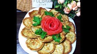 Воздушные оладьи из кабачков с укропом: рецепт от Foodman.club