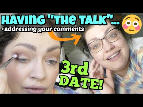 THIRD DATE GET READY & UNREADY WITH ME | Makeup, Outfit, & DATE RECAP!!!