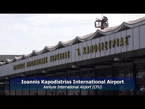 "Korfu Airport ""Ioannis Kapodistrias""  (Corfu (Kerkyra, Kerkira) GR) LGKR / CFU [FULL HD]"