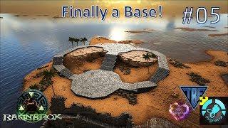 Pugnacia Parados Ragnarok #05! Starting the base place! Ark Survival Evolved Modded Playthrough