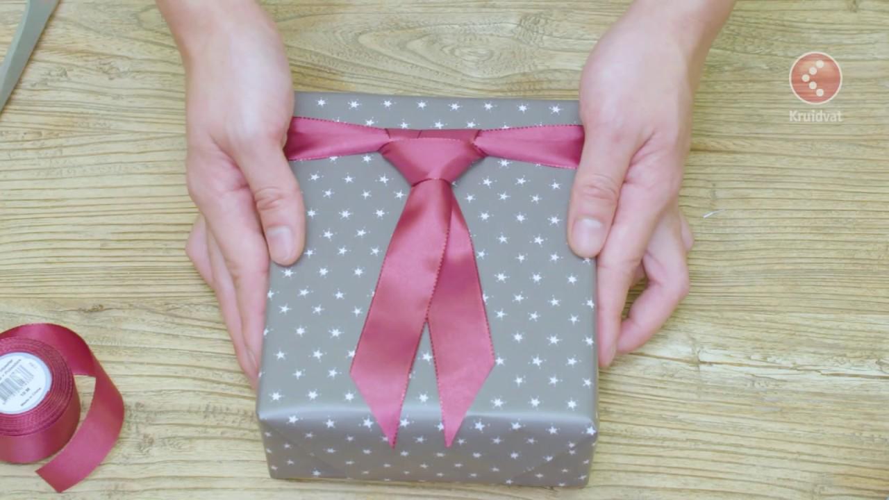 Cadeau Met Stropdas Origineel Inpakken Kruidvat