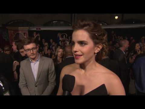 "Beauty and the Beast: Emma Watson ""Belle"" Movie Premiere Interview"
