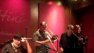 Poncho Sanchez performs Watermelon Man live at Spaghettinis