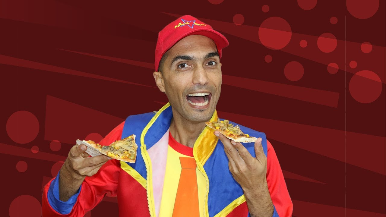 عمو صابر يحب البيتزا- amo saber loves pizza