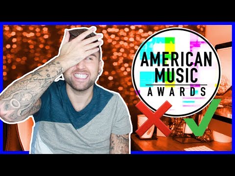 American Music Awards - AMAs 2017 - Red Carpet Fashion Review!!!  |  thatsNathan