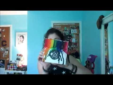 Diy 5sos crayon melting art youtube for 5sos room decor ideas