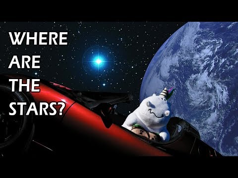 Where Are The Stars?? Why You Never See Stars In Live Videos From Space.