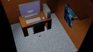 3d Studio Max Project - Computer Desk