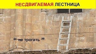 Почему НИКТО и НИКОГДА не мог сдвинуть эту лестницу