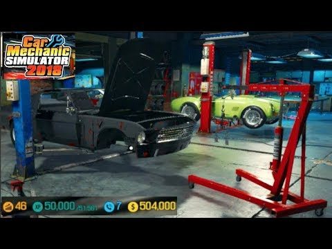 Car Mechanic Sim 2018 - Modded Account LP...