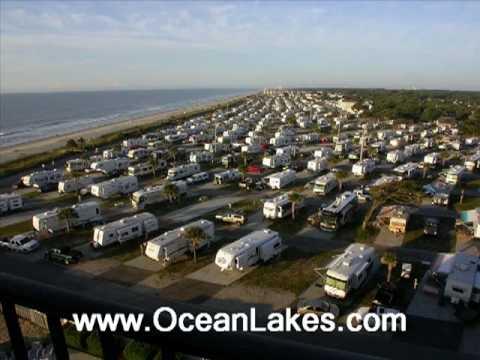 Ocean Lakes Family Campgound Myrtle Beach Sc Youtube