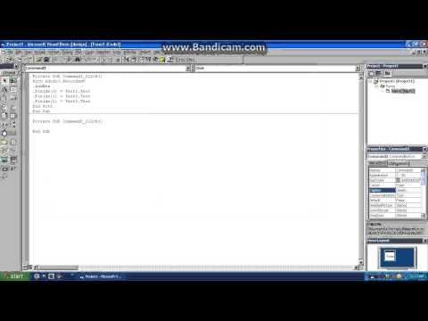 ADD,EDIT,DELETE using ADODC in VB6 w/ Print
