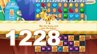 Candy Crush Soda Saga Level 1228 (3 stars, No boosters)