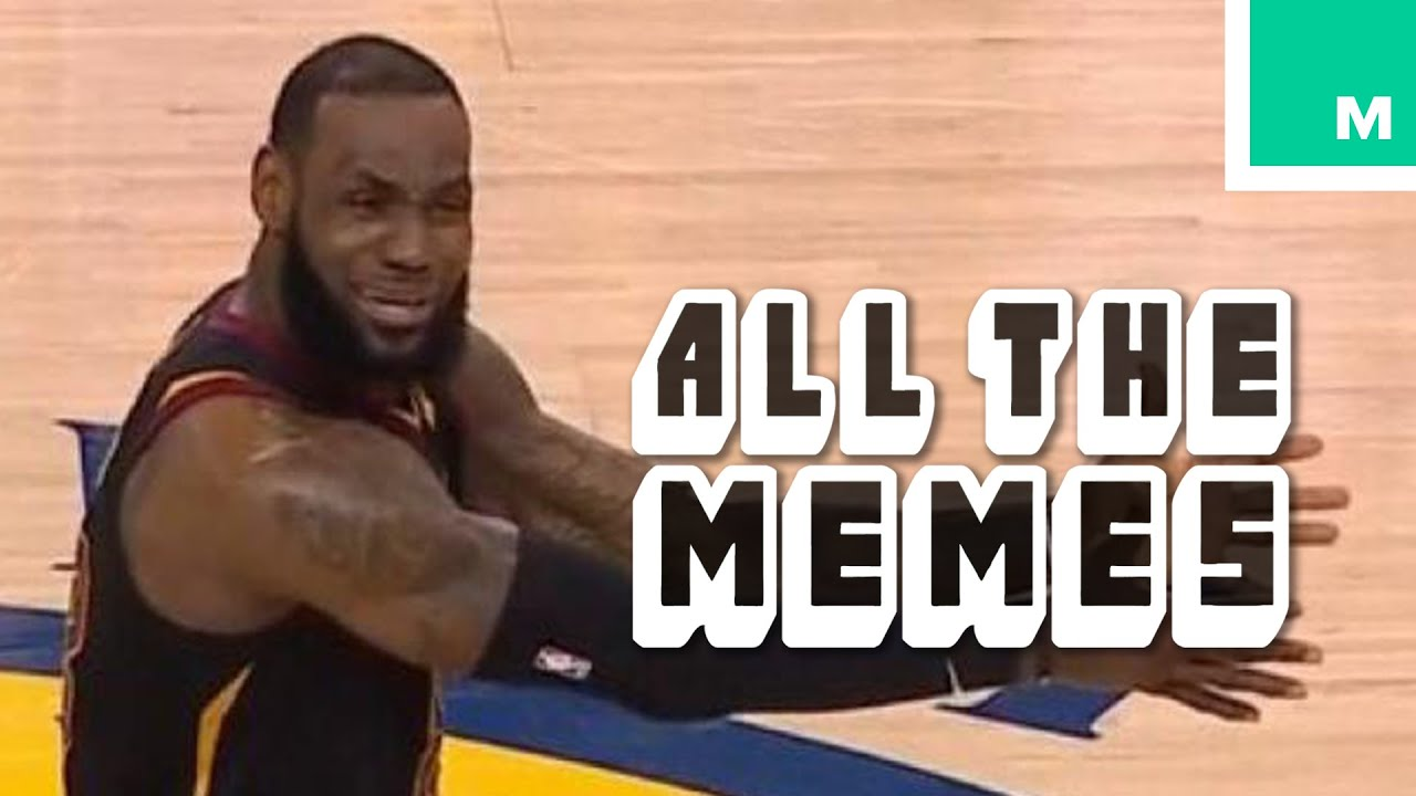 2018 NBA Finals Memes (feat. Lebron James) - All The Memes - YouTube