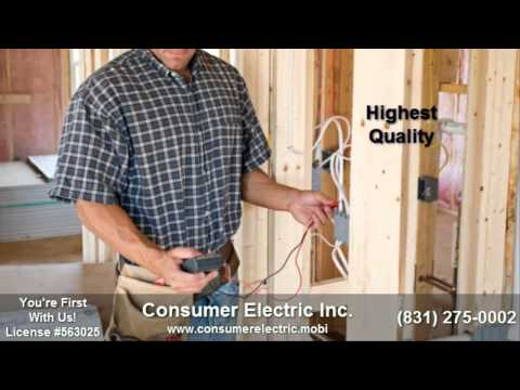 Carmel Electrician | 831-275-0002 | Electrician Carmel Ca |Residential Electrical Contractors|93923