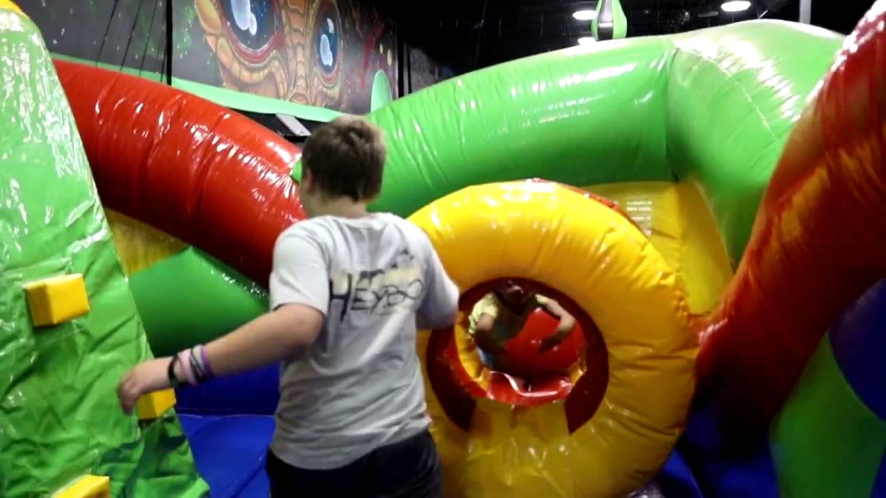 Velocity Air Sports Charleston Trampoline Inflatable Park Youtube
