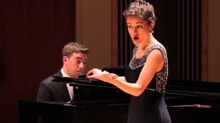 POULENC Deux Poèmes de Louis Aragon: Fêtes galantes - Amy Broadbent, soprano - 2014