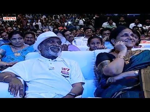 DSP Father Speech @ S/o Satyamurthy Audio Launch Live || Allu Arjun, Samantha