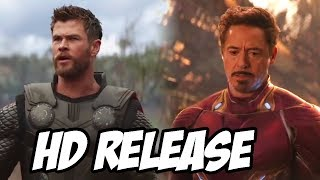 Avengers Infinity War HD Release Date Confirmed before Avengers 4