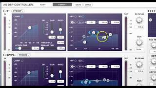 yamaha ag03 mixer dsp expert mode