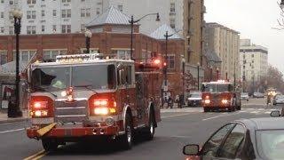 Fire Trucks 2013 IMPROVED Action, Lights, Sirens, Horns, for Children