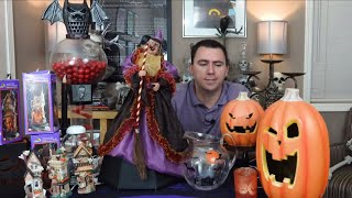 Halloween Decorations Thrift Store Haul - August, 2018